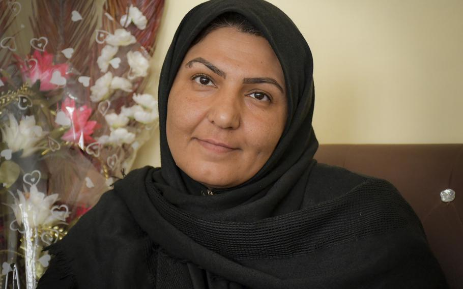 Na'ema Mawdadi, an Afghan police officer since 2007, writes poetry to cope with years of war and loss.