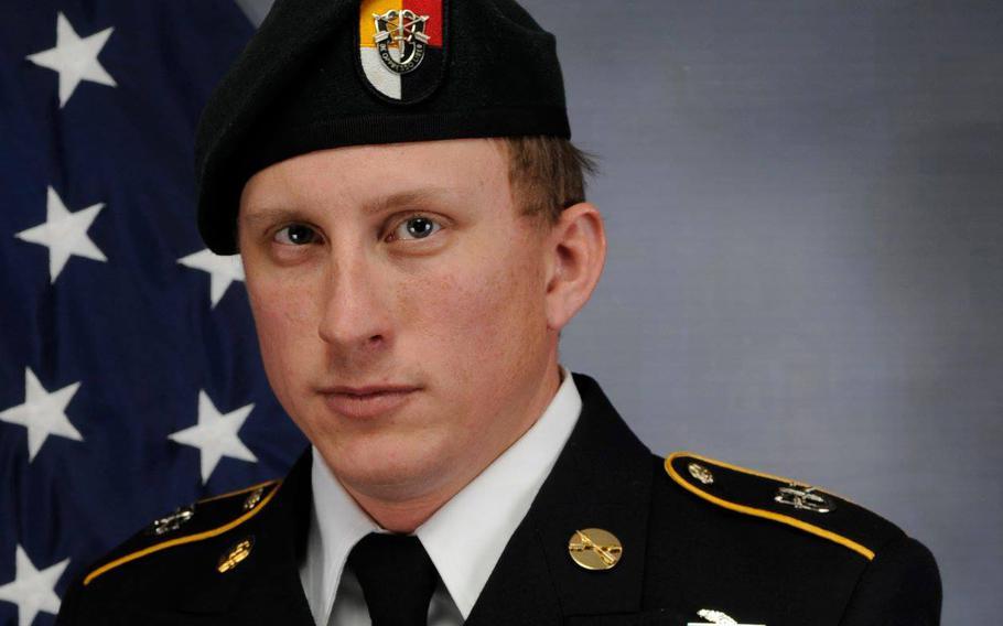 """Army Staff Sgt. Joshua """"Zach"""" Beale"""