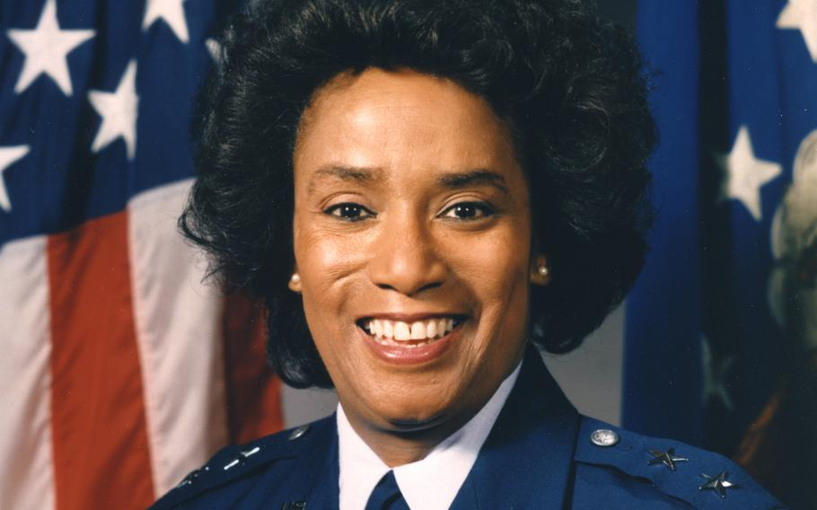 Marcelite Harris was the Air Force's first female African-American major general.