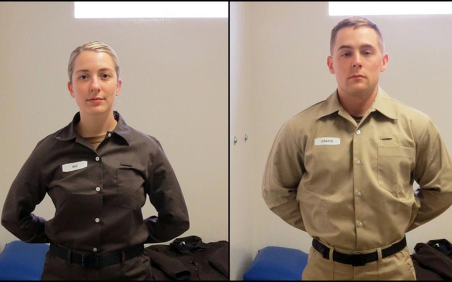 The Navy on Wednesday is adopting a distinct uniform for servicemembers confined in its correctional facilities.