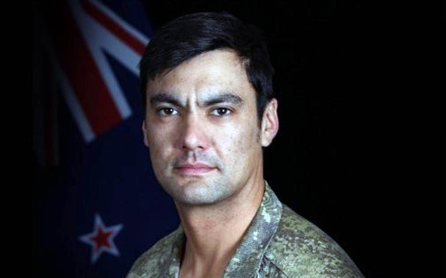 Lance Cpl. Nicholas Kahotea, 1st New Zealand Special Air Service Regiment, died in an accident during training alongside U.S. troops late Wednesday, May 8, 2019.