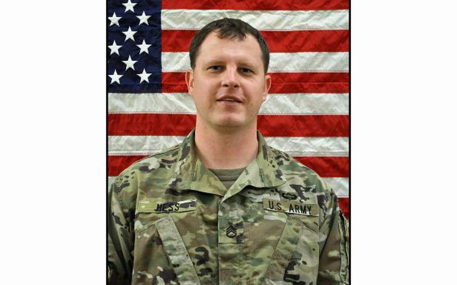 Staff Sgt. Jacob Hess died of wounds sustained during training at Fort Polk, La.