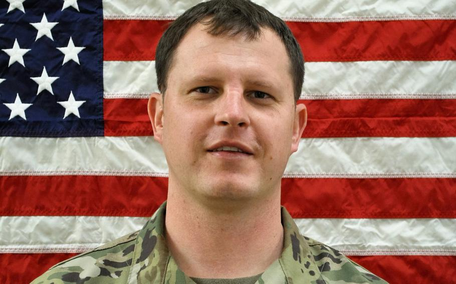 Staff Sgt. Jacob Hess, 34, died in a training accident May 15, 2019, at the Joint Readiness Training Center in Fort Polk, La.