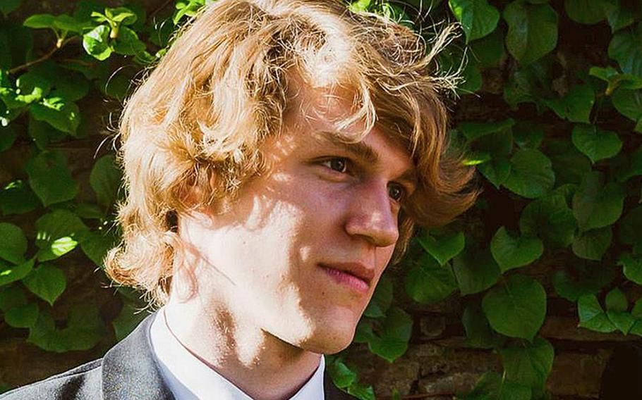This undated photo shows Riley Howell, who was killed after he tackled a gunman who opened fire in a classroom at the University of North Carolina-Charlotte, police say.