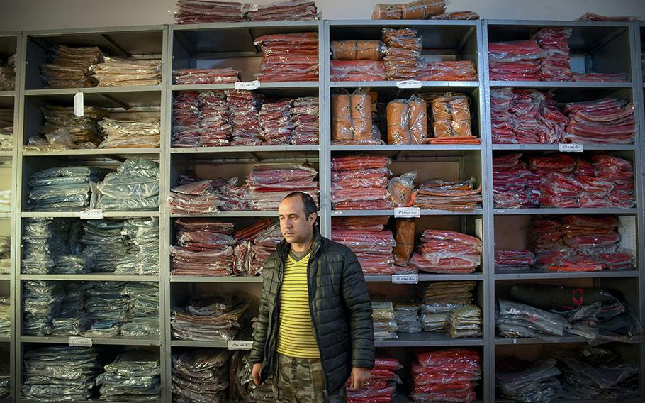 Hamid Nori, who manages a factory in Kabul, helps create products for Combat Flip Flops, a company started by a U.S. veteran and Ranger who deployed to Afghanistan and wanted to invest in the country. The company's co-founder, Matt Griffin, said he wanted to help build up Afghanistan through private enterprise.