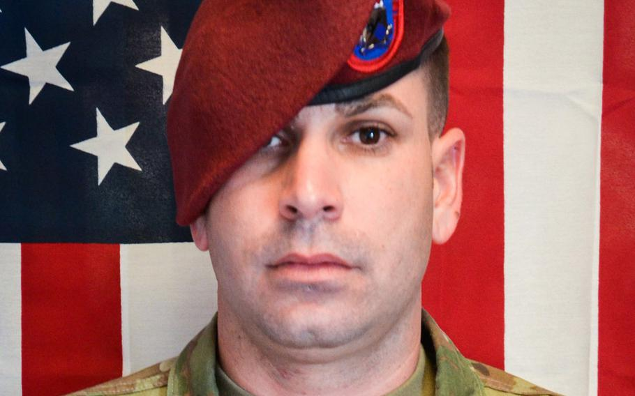 Sgt. 1st Class Elis A. Barreto Ortiz was killed in a suicide bombing in Afghanistan on Sept. 5, 2019.