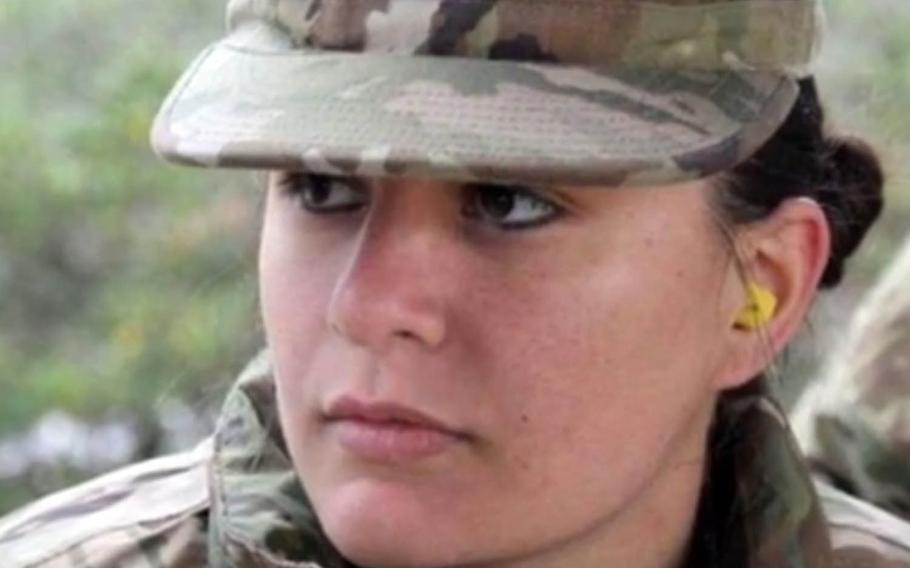 Army veteran and military spouse Selena Roth was buried in her home state of Florida, Monday, Feb. 1, 2021.