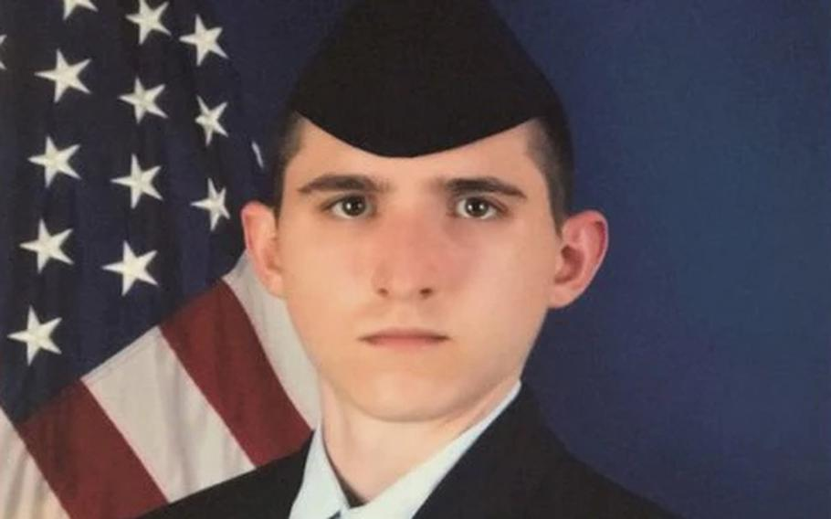 U.S. Air Force Airman Daniel J. Germenis was assigned to the 336th Training Squadron as a technical student studying cyber systems operations, according to a news release from Keesler Air Base.