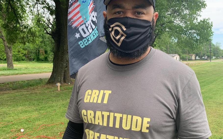 "Army veteran Greg Washington's 1,800-mile ""A Walk To Honor"" raises awareness for veteran suicide."