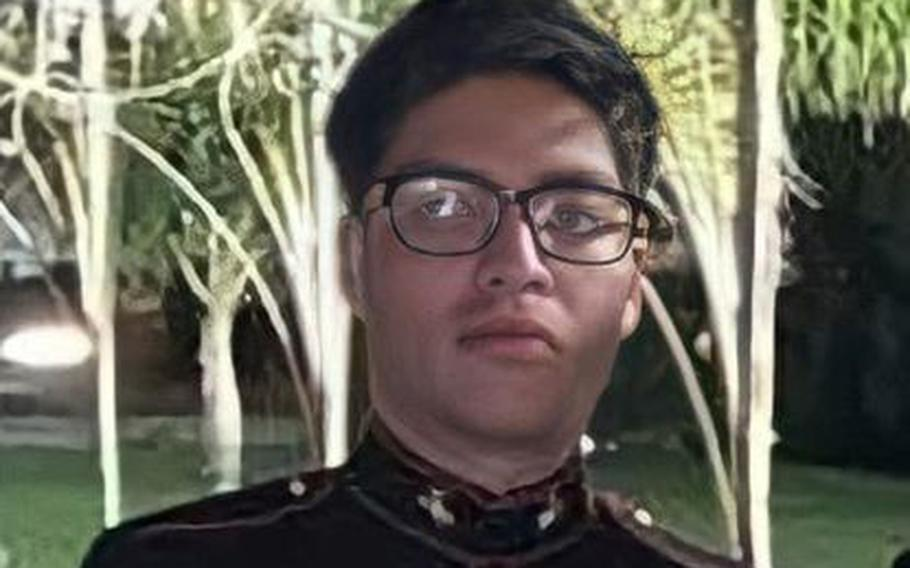 U.S. Marine Cpl. Humberto Sanchez was one of 13 military service members killed inside the Hamid Karzai International Airport in Kabul, Afghanistan,by a suicide bomber on Aug. 26. At least 170 Afghans also were killed.
