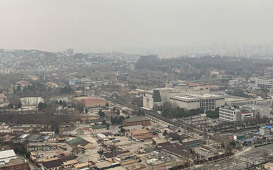 A view of U.S. Army Garrison Yongsan in Seoul, South Korea. A former medical records administrator there was sentenced to over 12 years in prison for participating in an ID theft scheme that defrauded military members and veterans of more than $1.5 million.