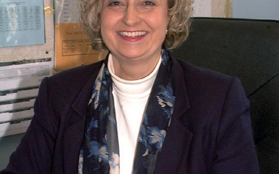 Noni Hoag, assistant principal at Lakenheath Middle School at RAF Feltwell, England, has been named the Assistant Principal of the Year for the Department of Defense Education Activity.