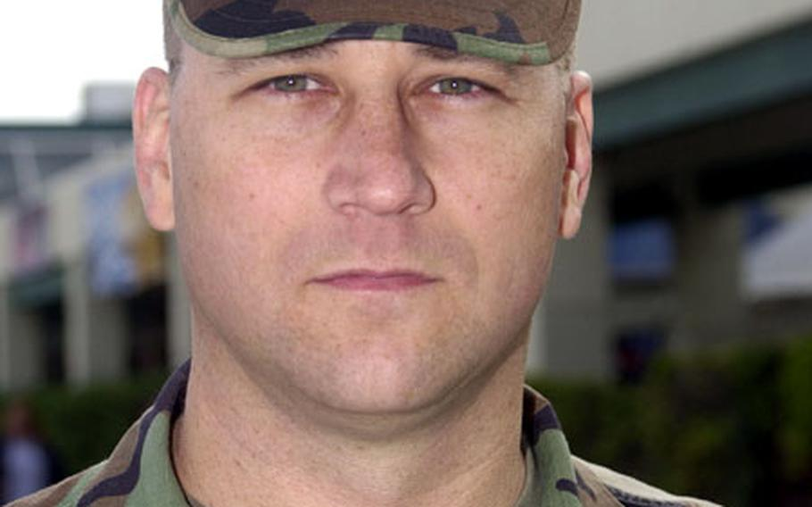 Marine Chief Warrant Officer 2 Todd Croft said the stop move policy put his move to North Carolina in July on the back burner.
