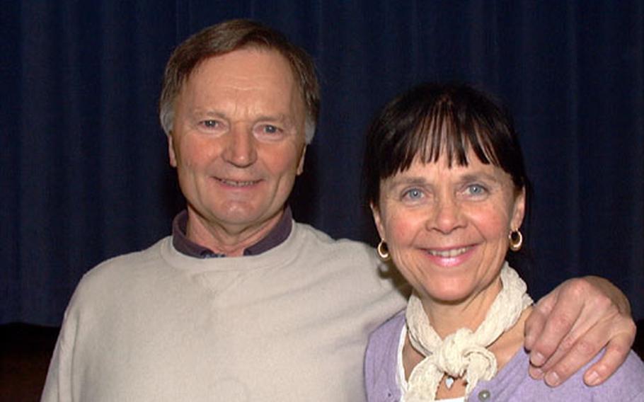 Helmut Schmitt, left, and Delome Greenwald-Schmitt, Bamberg Performing Arts Club ballet instructors.