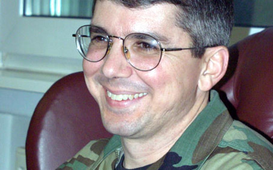 Command Chief Master Sgt. Tim Carroll