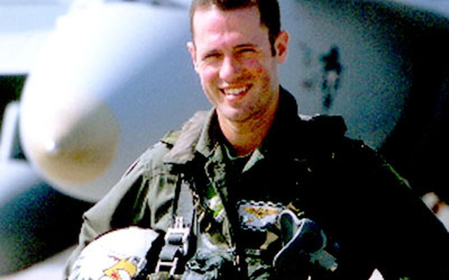 Navy Lt. and F/A-18 pilot Nathan White, from Atsugi Naval Air Facility, was shot down and killed over Iraq April 2.