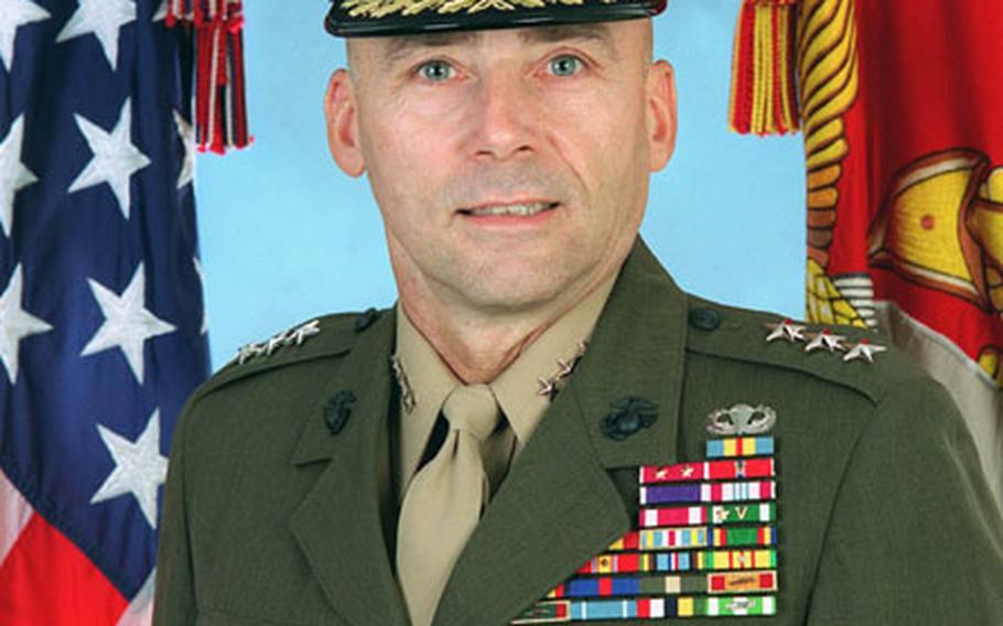 Lt. Gen. Wallace C. Gregson Jr.