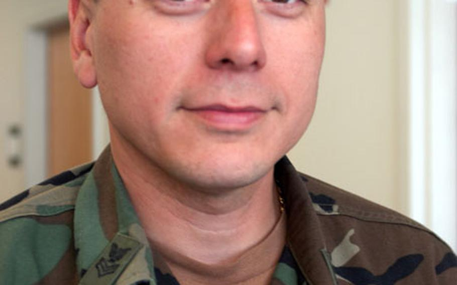 Petty Officer 1st Class Marc Medina.