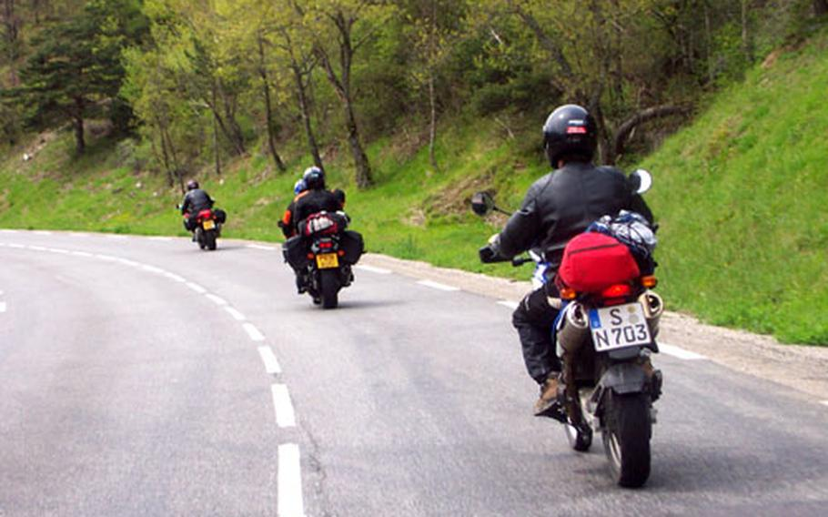 According to U.S. Air Forces in Europe statistics, motorcycles make up less than 10 percent of all its registered vehicles, but in the past six years were involved in 35 percent of its accidents. Because motorycle riding can be more dangerous in Europe than in the States, USAFE has instituted new safety initiatives, training procedures and licensing programs for all motorcycle riders within the command.