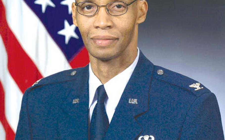 Air Force Col. Will A. Gunn.