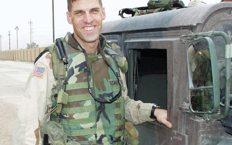 Col. Terry Wolff, commander of 2nd Armored Cavalry Regiment, based in Fort Polk, La.