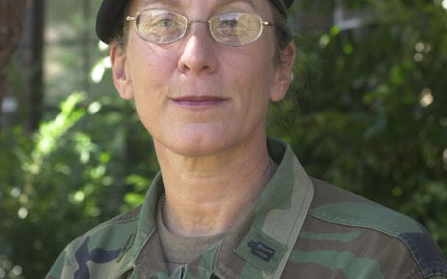 Chaplain (Lt. Col.) Bonnie Koppell.