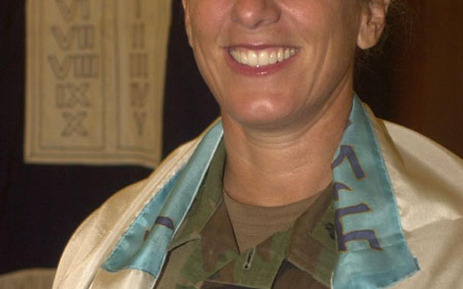 Koppell is one of two female rabbis serving in the U.S. military.