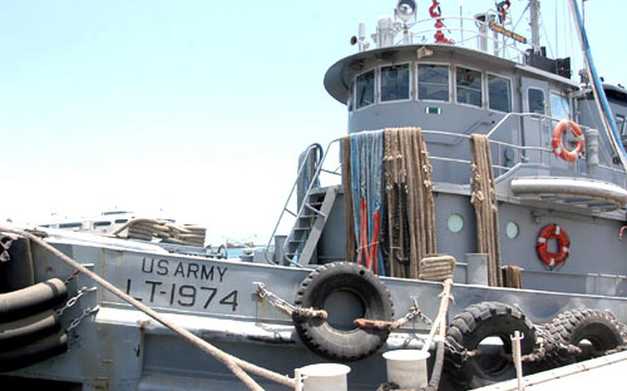 The Champagne Marne, a 52-year-old Army tugboat, saw action in Operation Iraqi Freedom.