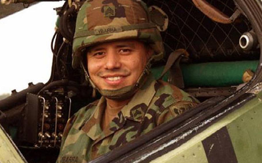 Photo of Sgt. Henry Ybarra III, 32, soldier from 6th Squadron, 6th Cavalry Regiment, who died Sept. 11, 2003, in Iraq.