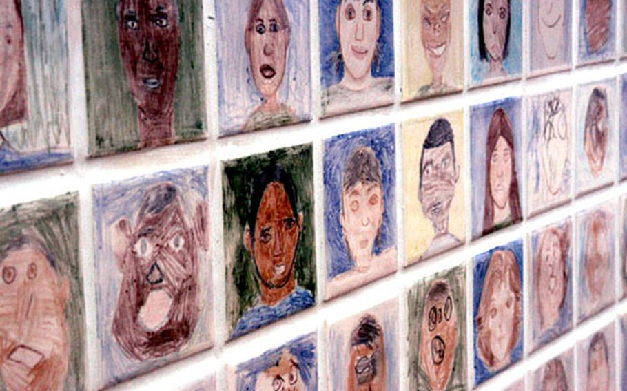 The massive tile project will help commemorate those who attended the school's first year.