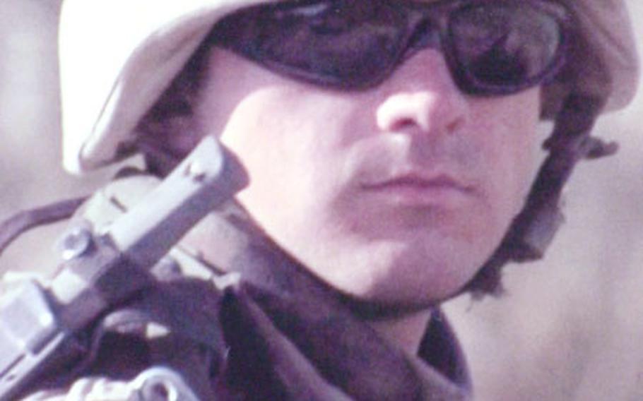 Spc. Martin W. Kondor, Company A, 1st Battalion, 63rd Armor Regiment.