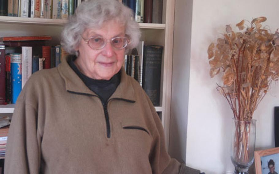 Davida Higgin, 77, will go on trial Tuesday for planning to break onto RAF Lakenheath, England, during an anti-nuclear demonstration last fall. She is a longtime campaigner for the elimination of all nuclear weapons.