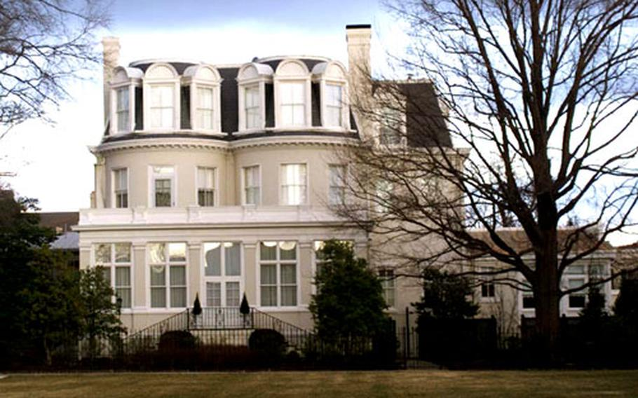 Built in 1801, the Home of the Commandants is one of several Marine Corps and Navy general and flag officer quarters for which there was inconsistencies in tracking reported gifts for renovations, according to the General Accounting Office.