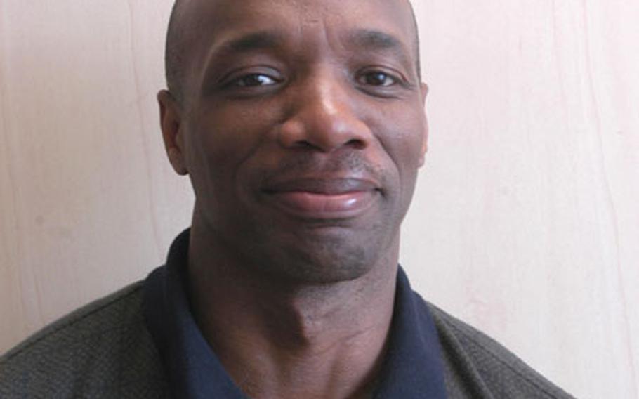 Chaplain (Maj.) Jimmie Sanders.