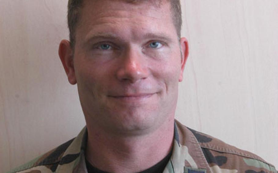 Chaplain (Capt.) Jack Stanley.