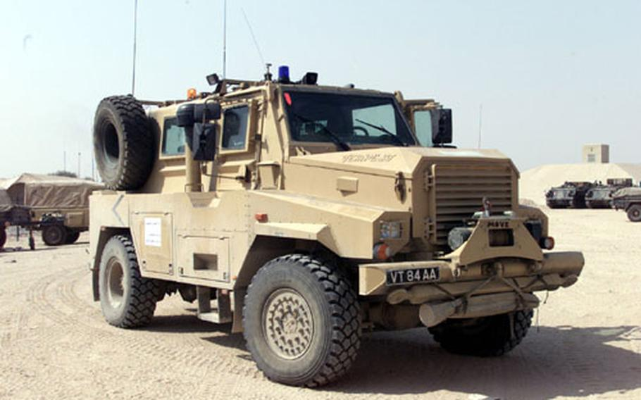 The U.S. Marine Corps will ship to Iraq by this fall 14 new anti-mine type vehicles, called the Cougar, that can be used to protect its Explosive Ordnance Disposal teams and combat engineers from Improvised Explosive Devices, or IEDs, which have claimed dozens of U.S. servicemembers' lives in the past year.