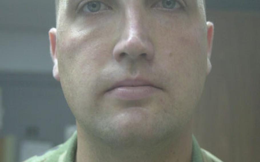 Navy Petty Officer Heath Snow.