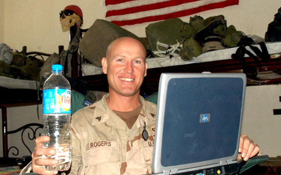 Soldiers in Iraq crave beer, women and high-speed Internet connections, in that order, said Sgt. Dale Rogers. His answer to the No. 1 problem was to create beerforsoldiers.com, a Web site that allows visitors to donate money to a beer fund for the 2nd ID troops in Iraq. Rogers will use the money to buy beer for soldiers on mid-tour leave and for a homecoming bash after the tour ends.
