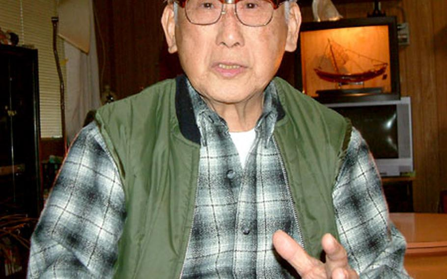 """Teruto """"Terry"""" Tsubota, 82, talks about his experiences as an interpreter for American troops during the Battle of Okinawa."""
