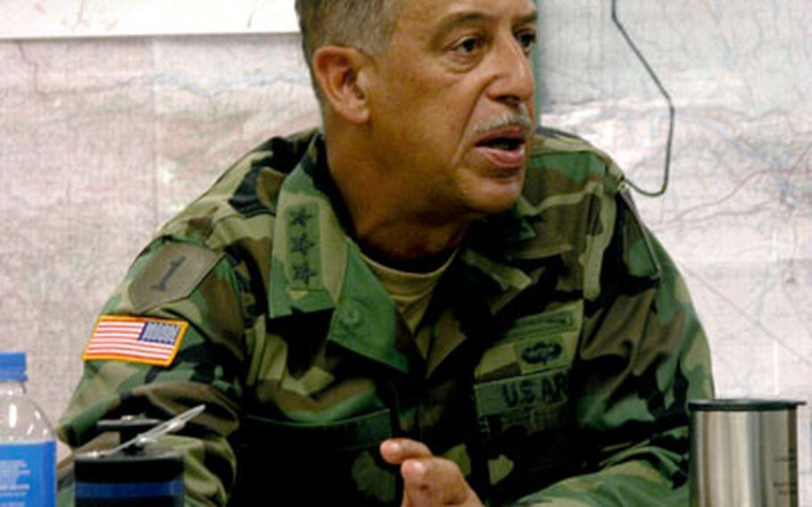Army Lt. Gen. Russel L. Honoré, now in charge of Task Force Katrina, is a former commander of the 2nd Infantry Division in South Korea.