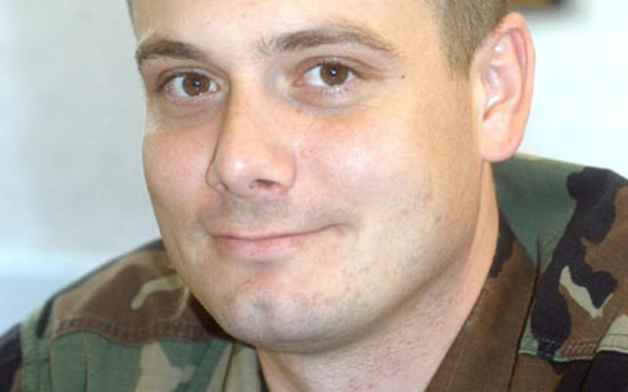 Staff Sgt. Jason Thoel of the 48th Communications Squadron, RAF Lakenheath, England, remembers well the first time he deployed alone as a young airman.