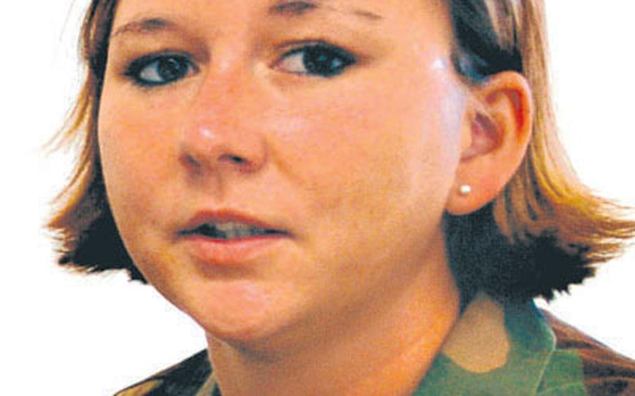 Air Force Staff Sgt. Jamie Bosarge.