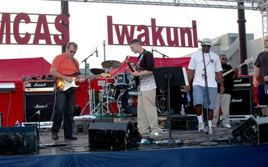 The band Seven Sons took the stage Saturday afternoon at the MCAS Iwakuni 2005 Summer Music Festival.
