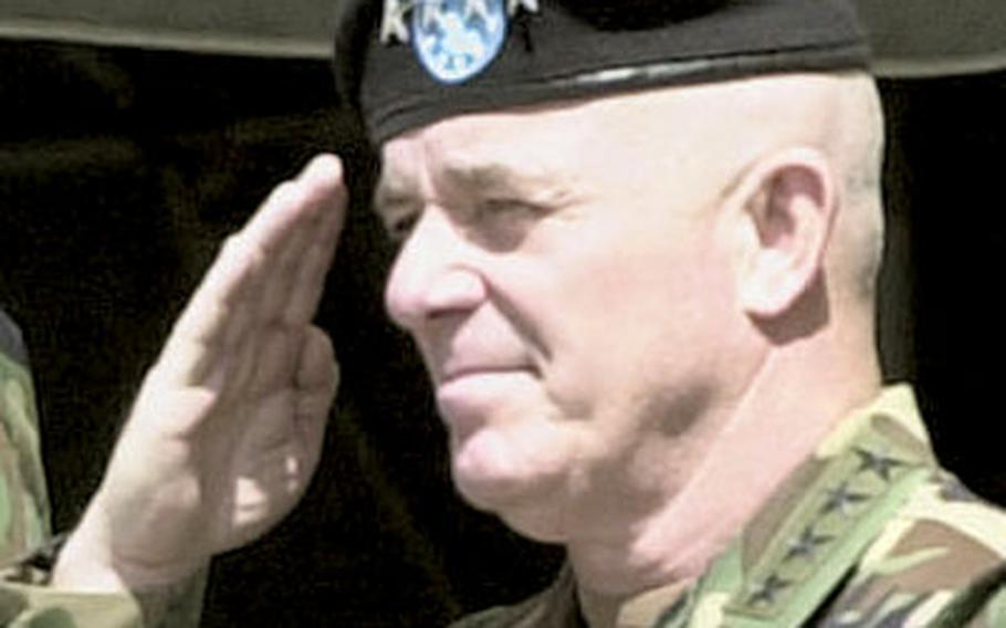 Gen. Leon J. LaPorte has been in charge of U.S. Forces Korea since May 2002.
