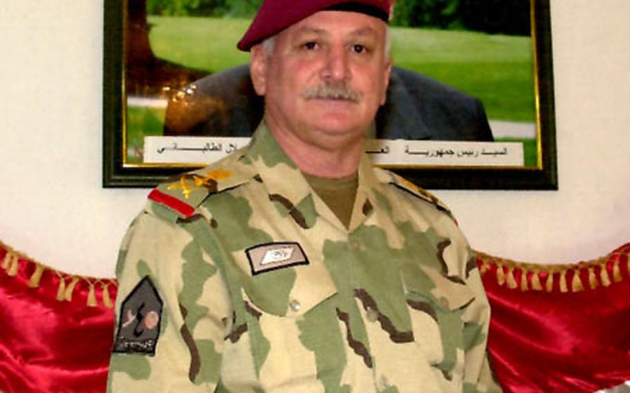 """Lt. Gen. Abdel Aziz says if the Iraqi Defense Ministry """"gave the Iraqi army complete authority, we could take care of things in six months. But if they don't authorize us, it could take five years."""""""