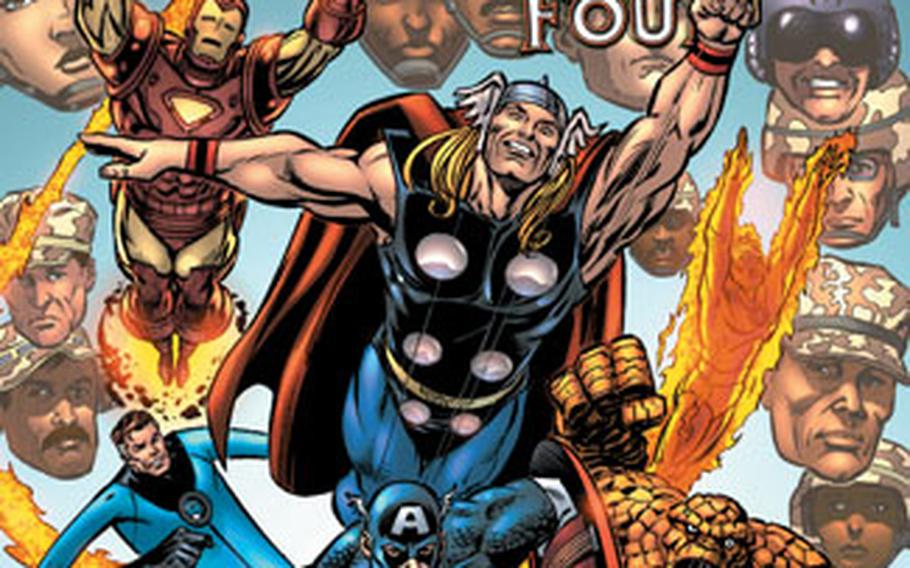 Marvel Comics will publish a 36-page special edition available only at military exchanges.