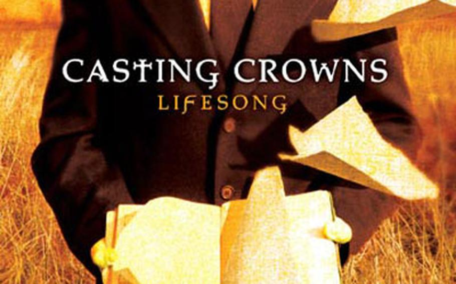 """Casting Crowns' sophomore release it titled """"Lifesong."""""""