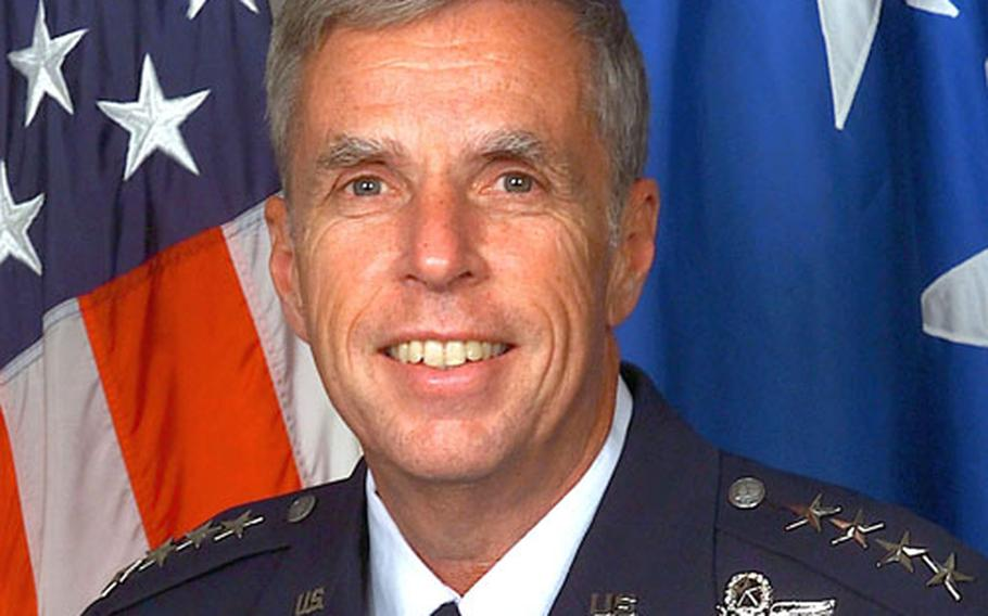 Gen. Robert H. 'Doc' Foglesong, commander of U.S. Air Forces in Europe since August 2003, will reportedly retire in 2006.