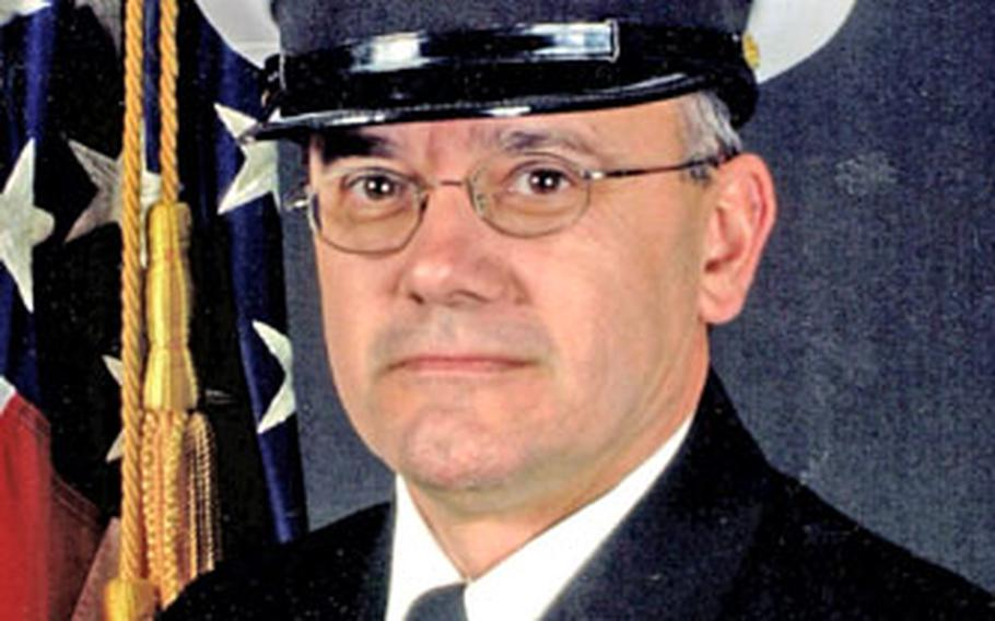 Command Master Chief James Parlier was aboard the USS Cole the day it was attacked.