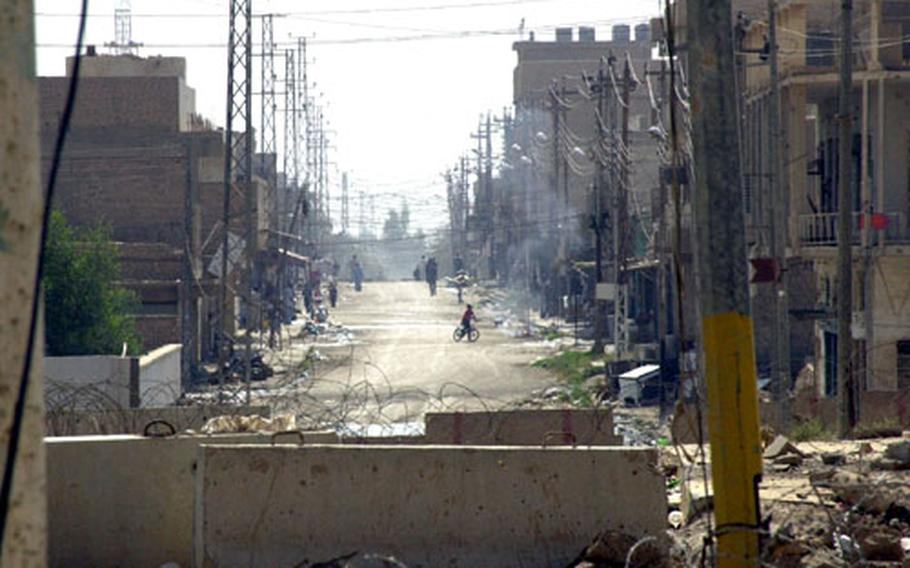 Instability and violence have plagued the city of Samarra, where regular trash collection stopped in 2003.